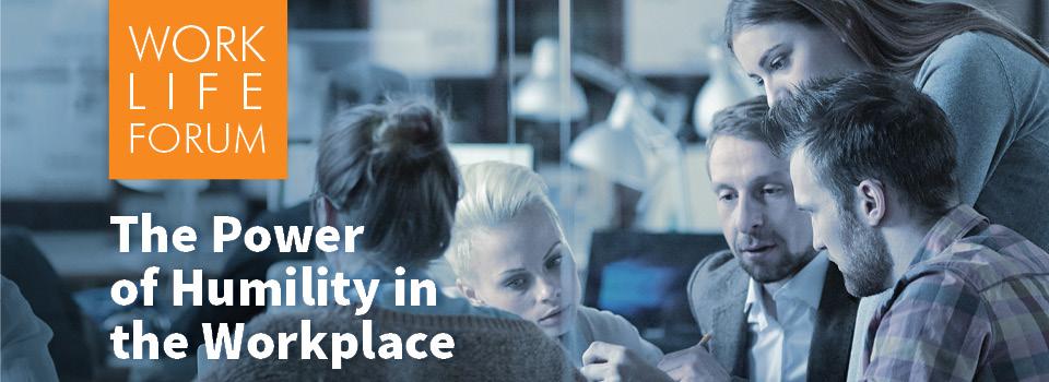 Work Life Forum web banner