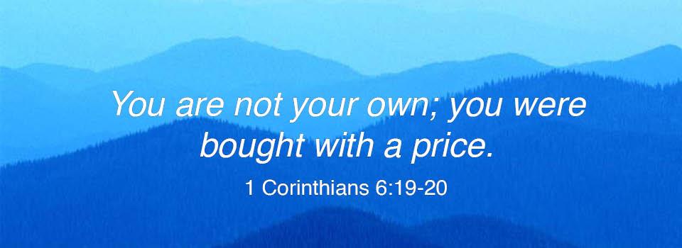 1 Corinthians 6.19-20