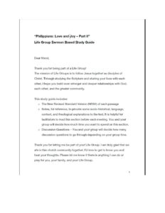 Philippians study guide II cover
