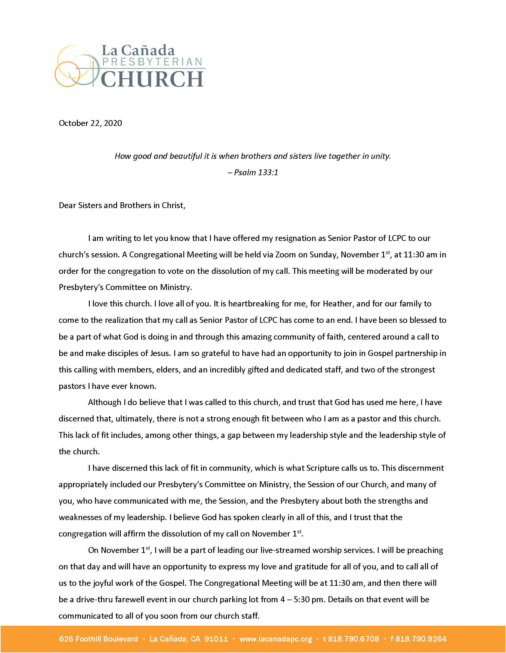 Jeff letter to congregation on letterhead_Page_1