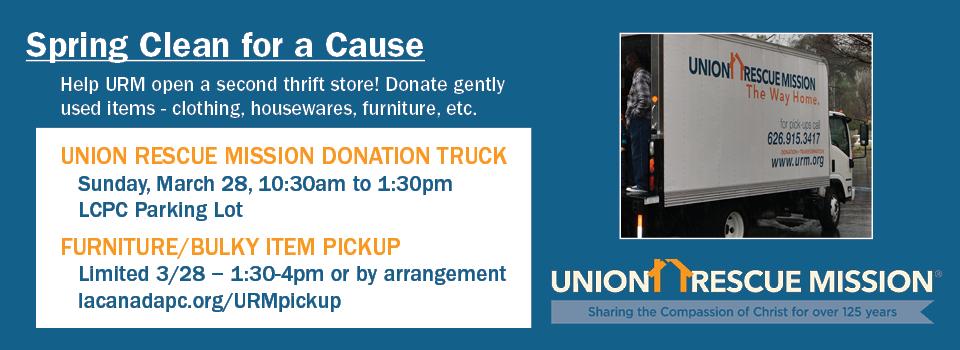 URM Thrift Store Donations