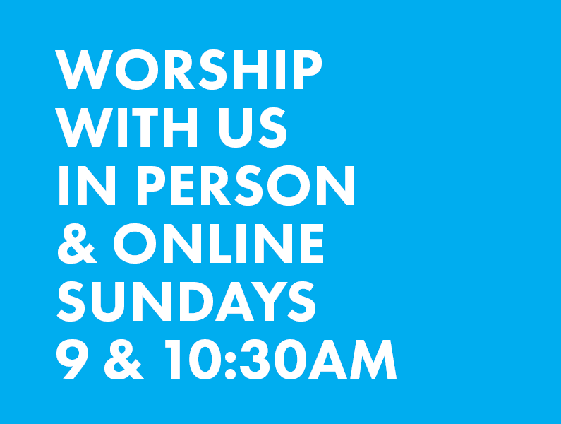 Worship with Us website banner